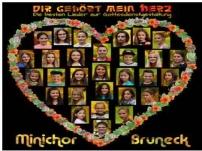 Kiwanis Club Bruneck unterstützt Minichor