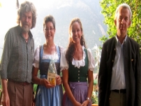 Benefizveranstaltung mit Reinhold Messner im Kräuterschlössl in Goldrain